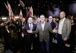 ARCHIVBILD - HC Strache nach Ibiza Video zurückgetreten, im Bild Tirols FPÖ Landesparteiobmann Markus Abwerzger und EX-FPÖ Bundesparteiobmann und EX-Vizekanzler Heinz Christian Strache am Freitag, 12. April 2019, während dem 32. Ordentlicher Landesparteitag der FPÖ Tirol, in Igls // ARCHIVE PHOTO - Tyrol's FPÖ Federal Party leader Markus Abwerzger and Former FPÖ Federal Party Chairman and former Vice Chancellor Heinz Christian Strache during the 32th Ordinary party convention of the FPÖ Tyrol in Igls. Austria on 2019/04/12. EXPA Pictures © 2019, PhotoCredit: EXPA/ Johann Groder