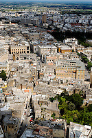 SALENTO. Panoramic view of the Lecce, souther city  of Italy, Puglia