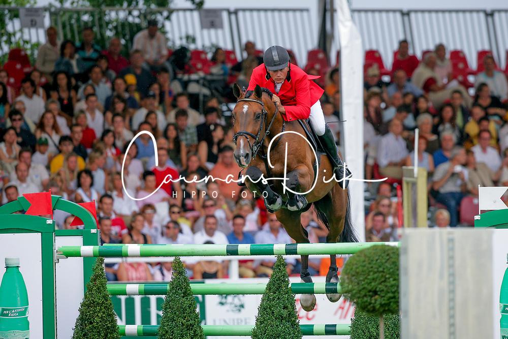 Van Roosbroeck Maurice, BEL, Le Coup C<br /> European Championship San Patrignano 2005<br /> © Hippo Foto - Dirk Caremans<br /> 23/07/2005