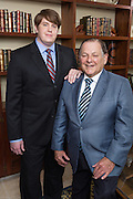 Chad and Gerald Simon of Simon & Simon Financial at their office in Covington, Louisiana