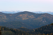 Selkirk Mountains, Idaho.