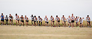 September 11, 2010: The Oklahoma Christian University Eagles men's cross country team participates in the UCO Land Run at Mitch Park in Edmond, OK.