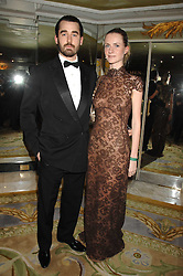 LOUIS & CHLOE BUCKWORTH at the Chain of Hope Ball held at The Dorchester, Park Lane, London on 4th February 2008.<br />