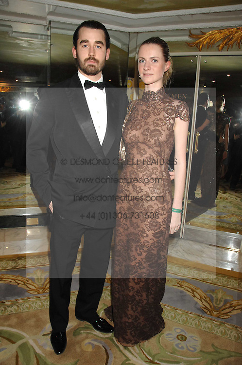 LOUIS & CHLOE BUCKWORTH at the Chain of Hope Ball held at The Dorchester, Park Lane, London on 4th February 2008.<br /><br />NON EXCLUSIVE - WORLD RIGHTS