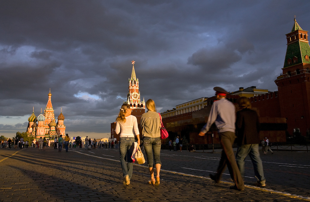 RUSSIA - Russland - MOSCOW, MOSKAU; der ROTE PLATZ ; RED SQUARE;