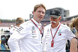 July 22, 2018 - Hockenheim, Germany - Motorsports: FIA Formula One World Championship 2018, Grand Prix of Germany, .Ola Kaellenius, Dr. Dieter Zetsche (Chairman of the Board of Management of Daimler AG, Head of Mercedes-Benz Cars) (Credit Image: © Hoch Zwei via ZUMA Wire)