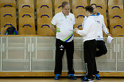 during practice session of team Slovenia before Round 2 at Day 8 of Eurobasket 2013 on September 11, 2013 in Jezica Hall, Ljubljana, Slovenia. (Photo By Urban Urbanc / Sportida.com)