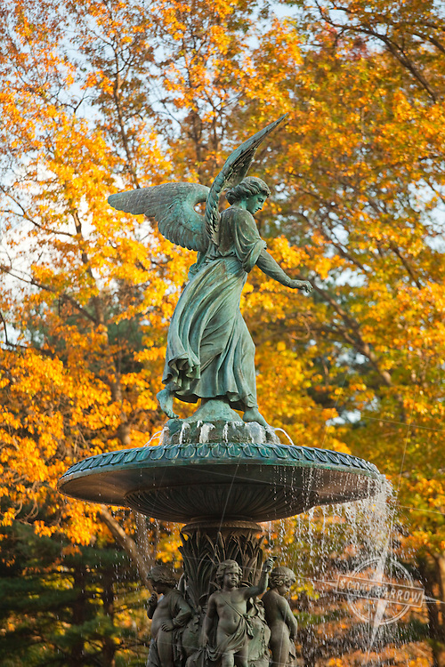 Angel of the Waters at the Bethesda Fountain in Central Park.