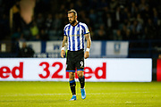 Steven Fletcher of Sheffield Wednesday during the EFL Sky Bet Championship match between Sheffield Wednesday and Luton Town at Hillsborough, Sheffield, England on 20 August 2019.