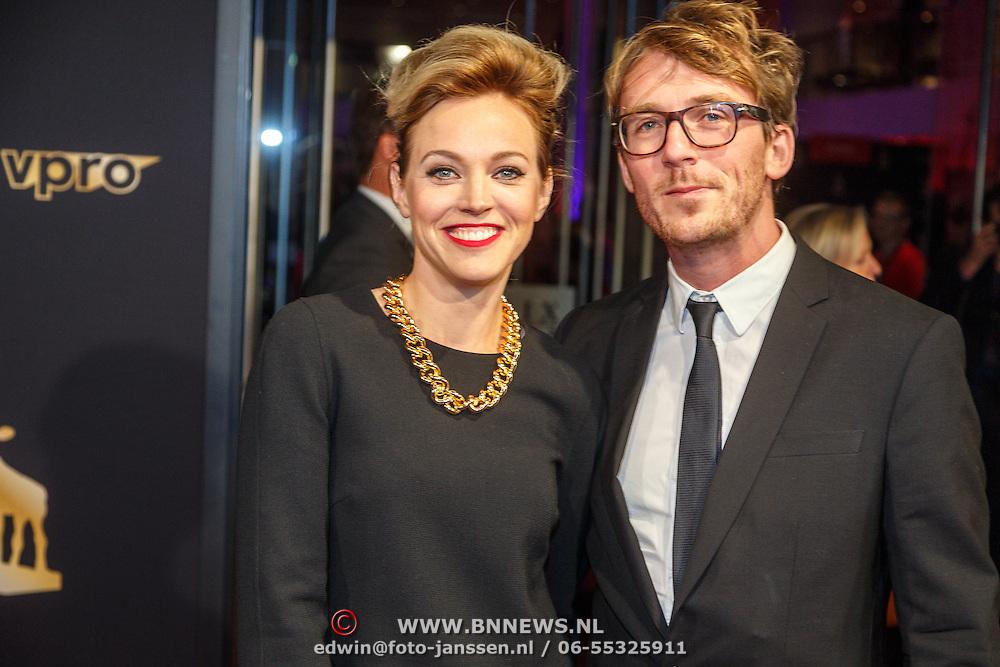 NLD/Utrecht/20150923 - Opening NFF 2015, filmpremiere J. Kessels, loes Haverkort en partner Floris Verbeij