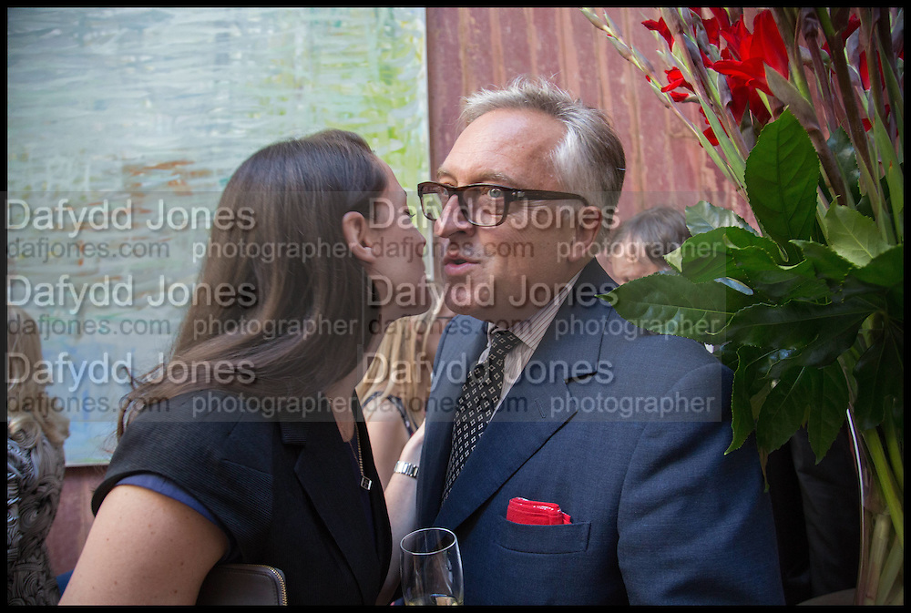 VICTORIA SIDDALL; EDMONDO DI ROBILANT, Drinks party to launch this year's Frieze Masters.Hosted by Charles Saumarez Smith and Victoria Siddall<br />  Academicians' room - The Keepers House. Royal Academy. Piccadilly. London. 3 July 2014