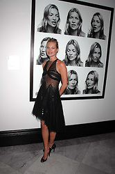 KATE MOSS at the opening party for 'Face of Fashion' an exhibition of photographs by five of the World's leading fashion photographers held at the National Portrait Gallery, St.Martin's Lane, London on 12th February 2007.<br />