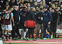 Football - 2016 / 2017 Premier League - West Ham United vs. Tottenham Hotspur<br /> <br /> A dejected Tottenham Manager Mauricio Pochettino walks to the tunnel at the final whistle at London Stadium.<br /> <br /> COLORSPORT/ANDREW COWIE