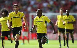 Lloyd Dyer of Burton Albion celebrates scoring his sides second goal - Mandatory by-line: Jack Phillips/JMP - 06/08/2016 - FOOTBALL - The City Ground - Nottingham, England - Nottingham Forest v Burton Albion - EFL Sky Bet Championship