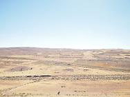 Bedouin landscape in Jordan, 2013.