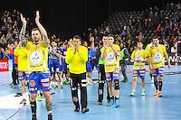 Joie Kielce - 15.03.2015 - Montpellier / Kielce - 1/8Finale aller Ligue des Champions<br /> Photo : Andre Delon / Icon Sport