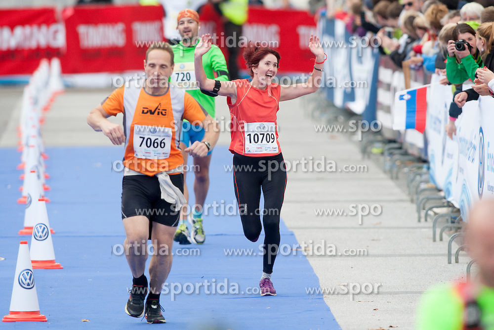 Joyce Teunissen during 19th Ljubljana Marathon 2014 on October 26, 2014 in Ljubljana, Slovenia. Photo by Urban Urbanc / Sportida.com
