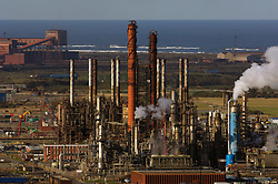 Huntsman Olefins petrochemical industry; manufacturer of ethylene and propylene; Wilton; Teesside; UK