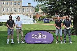 TEAM BANKSTONE-2, Celebrity Ben Foden, Sparks Leon Haslam Golf Day Wellingborough Golf Course Tuesday 7th June 2016