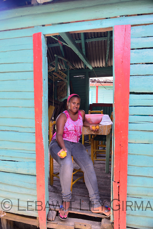 A Dominican girl in La Altagracia province<br />