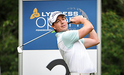 05.06.2014, Country Club Diamond, Atzenbrugg, AUT, Lyoness Golf Open, im Bild Brett Rumford (ENG) // Brett Rumford (ENG) in action during the Austrian Lyoness Golf Open at the Country Club Diamond, Atzenbrugg, Austria on 2014/06/05. EXPA Pictures © 2014, PhotoCredit: EXPA/ Sascha Trimmel