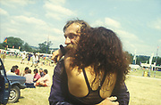 Hank and Marina, Glastonbury, 1994.