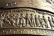 Prayer wheel at Dukezong Temple in Shangri-la Yunnan, China; September, 2013.