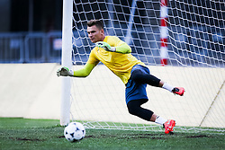 Adnan Golubovic of NK Domzale during practice session before football match between NK Domzale and FC Lusitanos Andorra in second leg of UEFA Europa league qualifications on July 6, 2016 in Andorra la Vella, Andorra. Photo by Ziga Zupan / Sportida