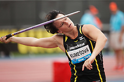 Samsung Diamond League adidas Grand Prix track & field; Jarmila Klimesova, CZE, Javelin