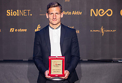 Klemen Sturm of Mura during SPINS XI Nogometna Gala 2019 event when presented best football players of Prva liga Telekom Slovenije in season 2018/19, on May 19, 2019 in Slovene National Theatre Opera and Ballet Ljubljana, Slovenia. Photo by Vid Ponikvar / Sportida