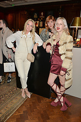 Left to right, ALICE NAYLOR-LEYLAND, PAULA GOLDSTEIN DI PRINCIPE and HARRIET VERNEY at the launch of new book 'Farfetch Curates: Food' at Maison Assouline, Piccadilly, London on 24th March 2015.