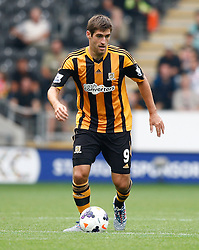 Hull City's Danny Graham  - Photo mandatory by-line: Matt Bunn/JMP - Tel: Mobile: 07966 386802 24/08/2013 - SPORT - FOOTBALL - KC Stadium - Hull -  Hull City V Norwich City - Barclays Premier League