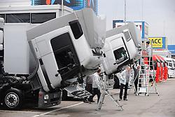 18.02.2011, Circuit de Catalunya, Barcelona, ESP, Formel 1 Test 3 2011,  im Bild F1 Paddock ImpressionsEXPA Pictures © 2011, PhotoCredit: EXPA/ nph/  Dieter Mathis       ****** out of GER / SWE / CRO  / BEL ******