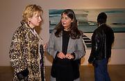 Edith Riejnja and Victoria Miro. Rijksakademie exhibition, Victoria Miro Gallery, London. 11 January 2003. © Copyright Photograph by Dafydd Jones 66 Stockwell Park Rd. London SW9 0DA Tel 020 7733 0108 www.dafjones.com