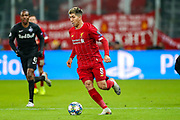 Liverpool forward Roberto Firmino (9) during the Champions League match between FC Red Bull Salzburg and Liverpool at the Red Bull Arena, Salzburg, Austria on 10 December 2019.
