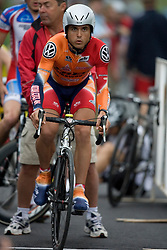Jake Hollenbach (CCB)..The Tour of Virginia began with a 4.7 mile individual time trial near Natural Bridge, VA on April 24, 2007. Formerly known as the Tour of Shenandoah, the ToV has gained National Race Calendar (NRC) status for the first time in its five year history.