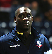 Emile Heskey during the Sky Bet Championship match between Preston North End and Bolton Wanderers at Deepdale, Preston, England on 31 October 2015. Photo by Pete Burns.