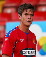 Billy Bingham of Dagenham and Redbridge during the Pre Season Friendly match at the London Borough of Barking and Dagenham Stadium, London<br /> Picture by David Horn/Focus Images Ltd +44 7545 970036<br /> 22/07/2014