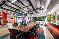 Interior design photo of Harkins Builders Northeast Offices in Wayne PA by Jeffrey Sauers of Commercial Photographics