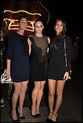 MARY MCCARTNEY; STELLA MCCARTNEY; DASHA ZHUKOVA, The World's First Fund Fair  in aid of Natalia Vodianova's charity the Naked Heart Foundation. The Roundhouse. London. 24 February 2015.