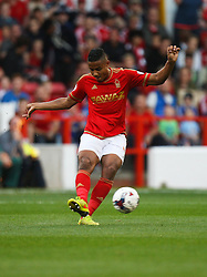Michael Mancienne of Nottingham Forest in action - Mandatory byline: Jack Phillips / JMP - 07966386802 - 11/08/15 - FOOTBALL - The City Ground - Nottingham, Nottinghamshire - Nottingham Forest v Walsall - Football League Cup Round 1
