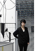 Artist Haegue Yang at her Berlin Studio