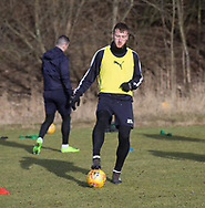 Dan Jefferies of Dundee - Dundee FC training , Picture by David Young -
