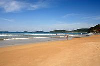 praia ferradura in the beautiful typical Brazilian city of buzios near rio de janeiro in brazil