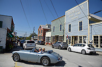 Visitors to Swansboro pull into public parking in the historic Onslow County town.