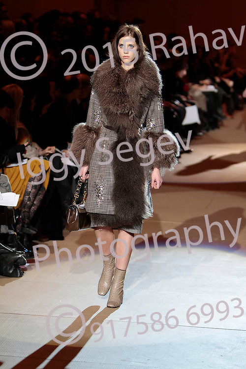 Marc Jacobs runway show during Mercedes Benz Fashion Week Spring 2010 on February 15, 2010. ..