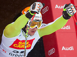 14.12.2011, Saslong, Groeden, ITA, FIS Weltcup Ski Alpin, Herren, 1. Training Abfahrt, im Bild Ambrosi Hoffmann (SUI) // Ambrosi Hoffmann of Suiss during 1st practice session men's downhill at FIS Ski Alpine Worldcup at Saslong in Groeden, Italy on 2011/12/14. EXPA Pictures © 2011, PhotoCredit: EXPA/ Johann Groder