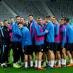 20181115: SLO, Football - Practice session of team Slovenia before Nations League match vs Norway
