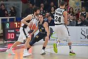 Teodosic Milos <br /> Legabasket Campionato 2019/2020<br /> 17° Giornata - Andata - 04/01/2020 <br />  Dolomiti Energia Trentino - Segafredo Virtus Bologna  77-83 <br /> Trento BLM Group Arena05/01/2020 Ore 17:30<br /> Foto GiulioCiamillo/Ciamillo