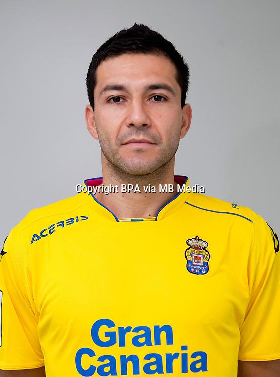 Spain - Liga BBVA 2015-2016 / <br /> ( UD Las Palmas ) - <br /> Antol&iacute;n Alcaraz Viveros &quot; Antolin Alcaraz &quot;